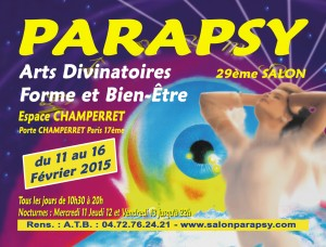 Retrouvez-moi au salon Parapsy 2015